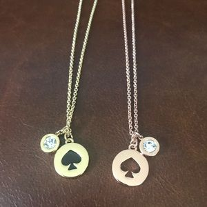 Two authentic Kate Spade necklaces.